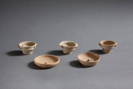 Five Greek miniature vessels, Corinth, 5th-4th century BC
