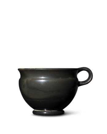 Greek black-glaze single-handled cup, Athens, 5th century BC