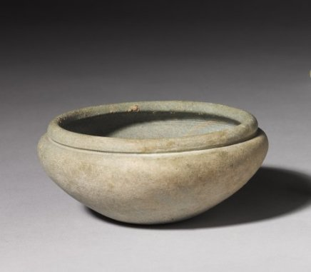 Egyptian schist bowl, Early Dynastic Period, 1st-2nd Dynasty, c.3100-2686 BC
