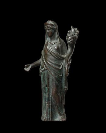 Roman statuette of Fortuna, 1st-2nd century AD