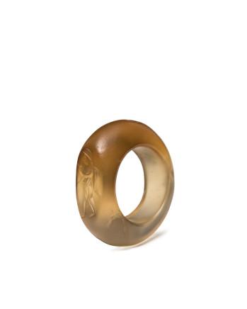 Sassanian ring with eros, 4th century AD