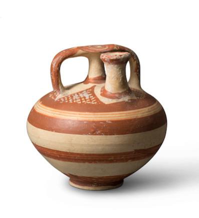 Minoan stirrup jar, Late Helladic III, c.1350-1200 BC