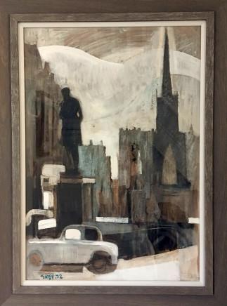 Geoffrey Key, Albert Square, 1972