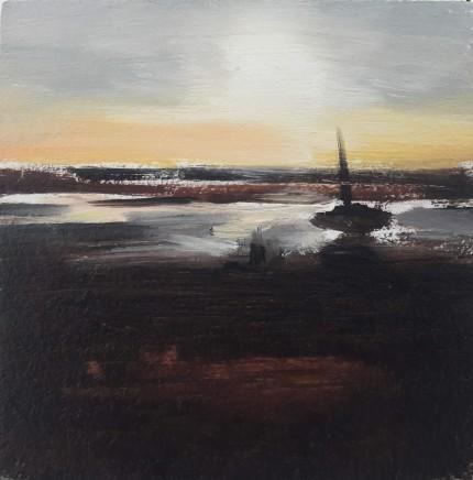 Liam Spencer, Boat, Ravenglass, 2018