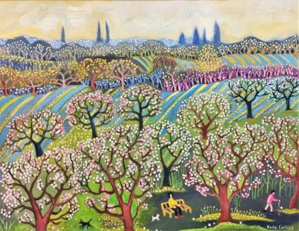 Kate Collins MAFA, In the Orchard