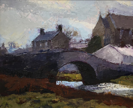 Anne Aspinall MAFA, Aberffraw, the Bridge