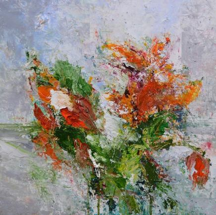 Matthew Bourne, Spring Flowers, Window Sill