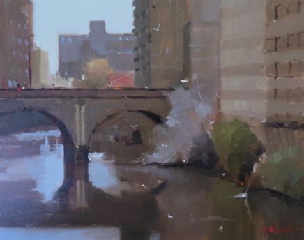 Michael Ashcroft AROI MAFA, Blackfriairs Bridge, Manchester