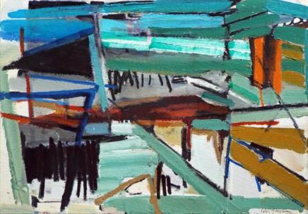 Colin Taylor MAFA, Spinningfields Site Drawing #6