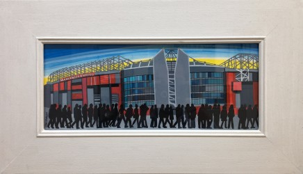 Jean Hobson, Old Trafford, Manchester