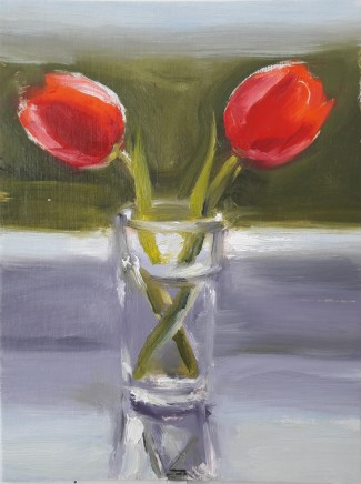 Liam Spencer, Tulips in a Glass