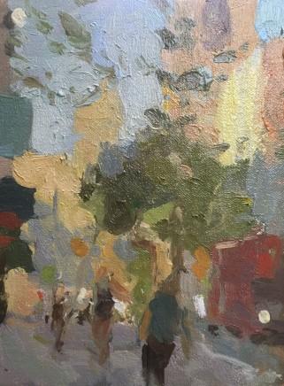 Adam Ralston MAFA, Evening Light, New Change