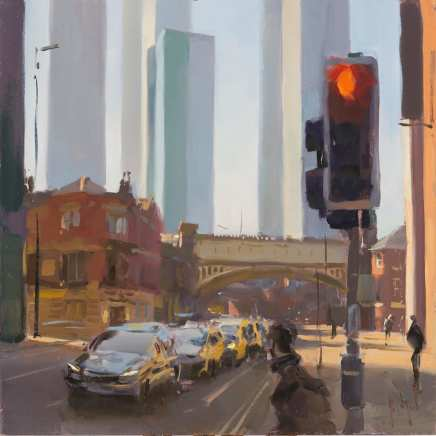 Rob Pointon ROI, The New Towers of Manchester Deansgate, 2021