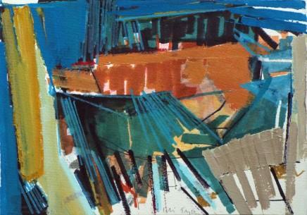 Colin Taylor MAFA, Spinningfields Site Drawing #8