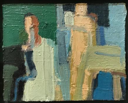 Arthur Neal NEAC, Figures at the Pool