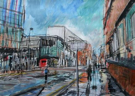 Matthew Thompson, Oxford Road, Near RNCM, 2020