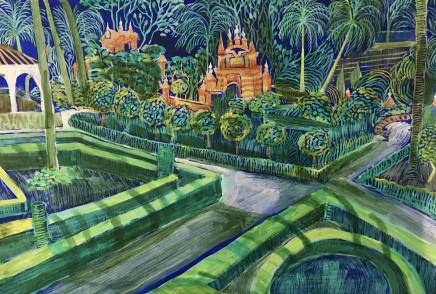 Kate Collins MAFA, Royal Alcazar Gardens