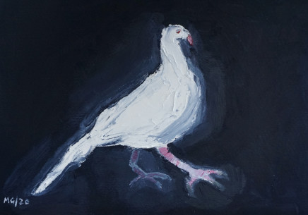 Mary Griffiths, Dove (Blue, Black), 2020