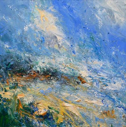 Matthew Bourne, Freshwater East, Across The Bay, High Tide, 2019