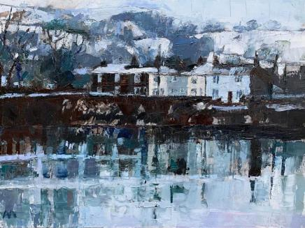Anne Aspinall MAFA, January Snow