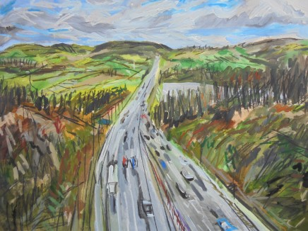 Matthew Thompson, M62 Near Scammonden Reservoir