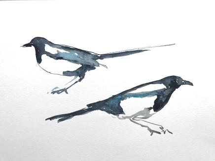 Sue Platt, The Magpie Twins - Demons, 2021
