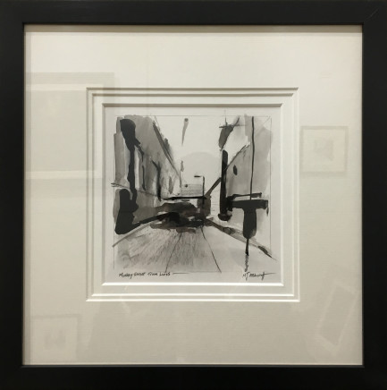 Michael Ashcroft MAFA, Mosley Street Tram Lines, 2018