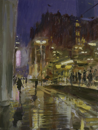 Rob Pointon ROI, Early Morning at St. Peter's Square