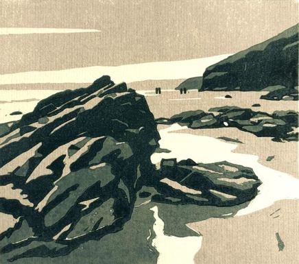 Ann Lewis RCA, Pools and Long Views, Newgale, 2020