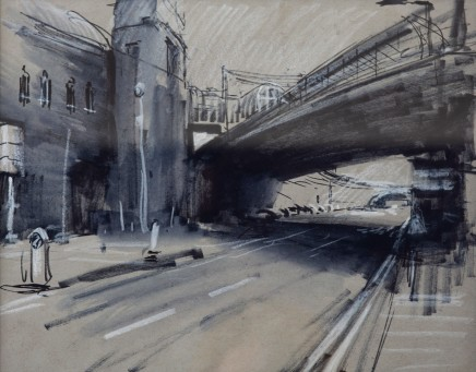 Rob Pointon ROI, Underneath Piccadilly Platform