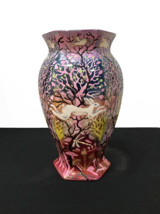 Kate Collins MAFA, Hare Vase, 2019