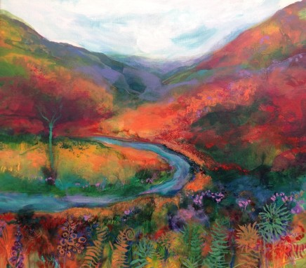 Jan Gardner RCA, After the Rain, Snowdonia