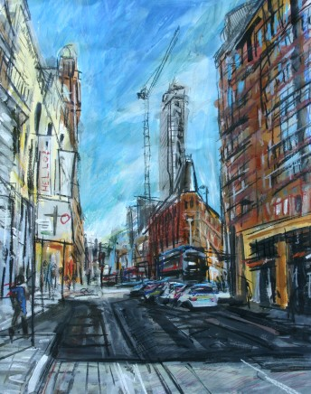 Matthew Thompson, Sun on Oxford Road