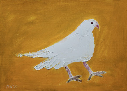 Mary Griffiths, Dove (Yellow), 2020