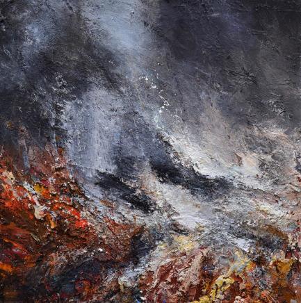 Matthew Bourne, Beneath The Cliffs, Winter Cove, Breaking Waves, 2020