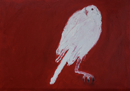 Mary Griffiths, Dove (Red 2), 2020