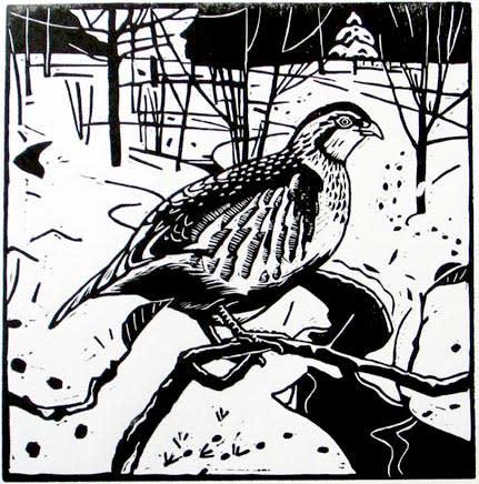 Ann Lewis RCA, Partridge in the Snow