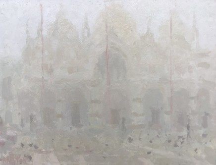 Adam Ralston MAFA, St. Marks Basilica, Early Morning Mist