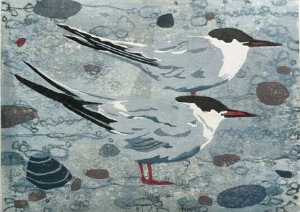 Ann Lewis RCA, Two Terns I, 2021