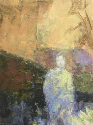 Linda Schwab, Unknown Man, Bracken and Hill, 2021