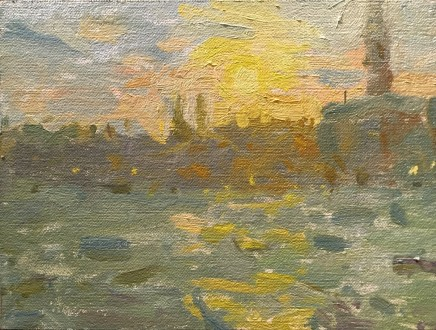 Adam Ralston MAFA, Grand Canal, Sunset, 2018