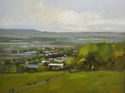 Michael Ashcroft MAFA, View from Corbar Cross, Buxton