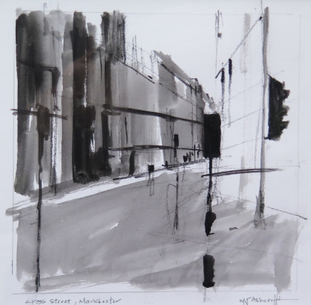 Michael Ashcroft MAFA, Cross Street (3), 2018
