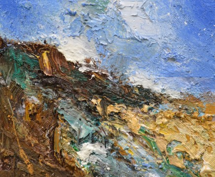 Matthew Bourne, High Tide, Cove, Golden Sand