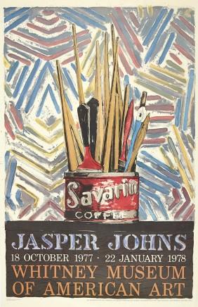 Jasper Johns, Whitney Museum, New York, 1977