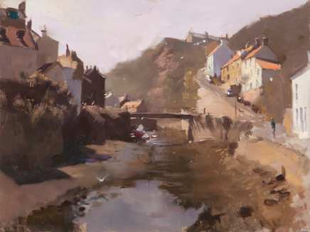 Rob Pointon ROI, The Beck, Staithes, 07/2020