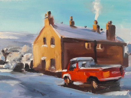 Liam Spencer, Truck in the Driveway, 2020