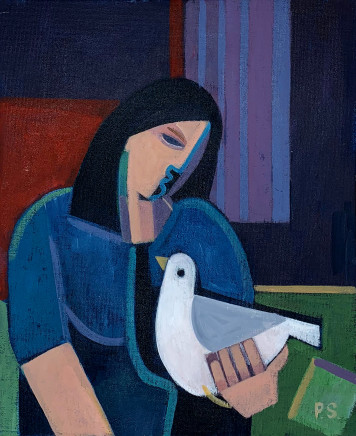 Peter Stanaway MAFA, My Lady's a Wild Flying Dove, 2020