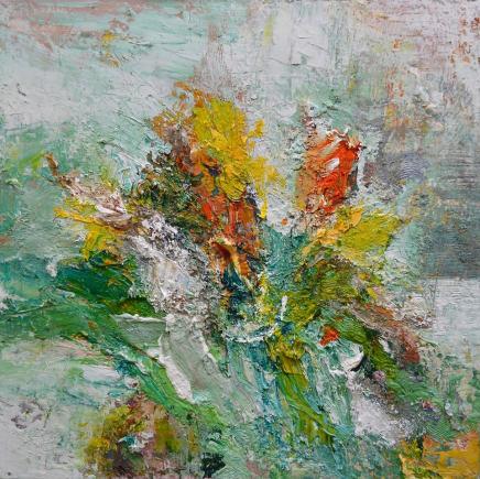 Matthew Bourne, Daffodils, Tulips, Studio Wall