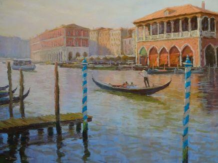 David Allen, The Grand Canal at Rialto